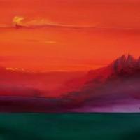 Watercolour – Arizona Sky – Surrey Artist Alan Brain – Paintings in Watercolour and Acrylic – Farnham Art Society