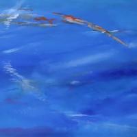 Watercolour – Vapour Trails II – Surrey Artist Alan Brain – Paintings in Watercolour and Acrylic – Farnham Art Society