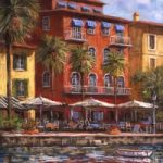 Waterfront Restaurants – Malcolm Surridge – Artist – Landscape Paintings – Surrey Artists Gallery