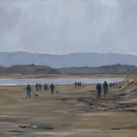 West Wittering Beach – Sussex – Mark Dorsett – Watercolour and Oil Paintings – Littleton Artists Group