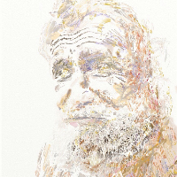 Portrait of Man – Beachcomber – Digital Portraiture by Surrey Artist Henri Potgieter