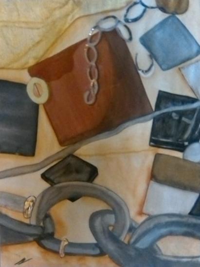 Abstract Build - Karen Marie Budge - Surrey Artist