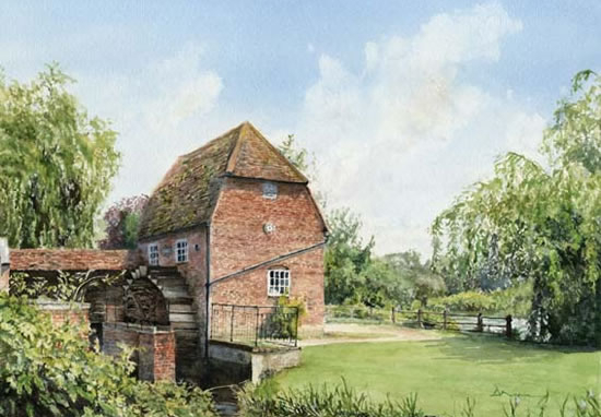 Cobham Mill Surrey - Fine Art Prints