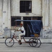 Havana Street Life Bicycle Taxi – Surrey Artist Noël Haring