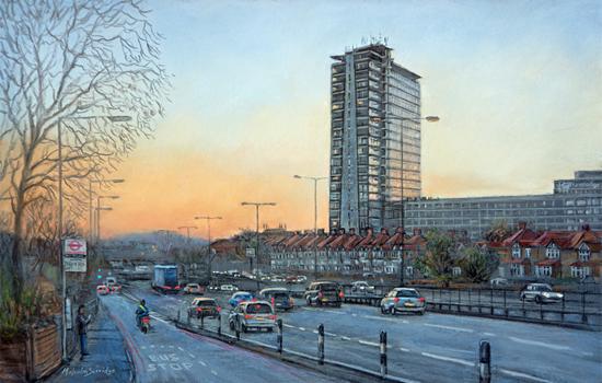 Homeward Bound Painting - Malcolm-Surridge Surrey Artist