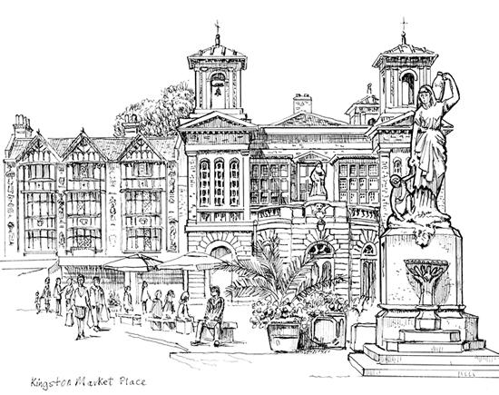 Kingston Market Place - Surrey Art Gallery Malcolm Surridge