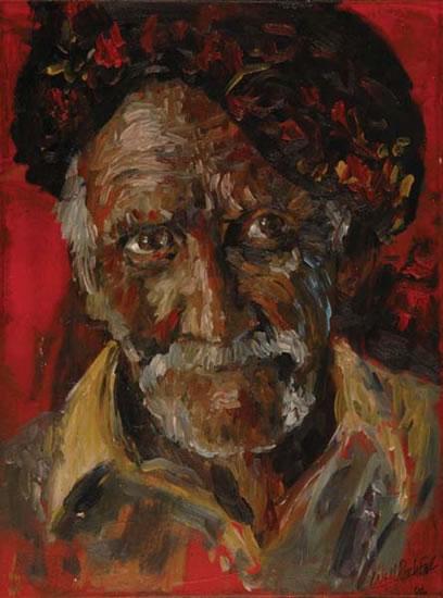 Man in Turban - Fine Art Prints - William E Rochfort