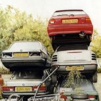 Pack of Cars – Noël Haring – Surrey Art Gallery