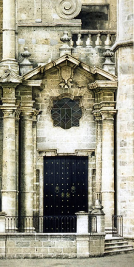 Noël Haring Surrey Artist Havana Cathedral Door