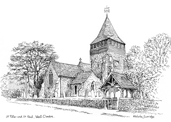 St Peter and St Paul Church West Clandon Surrey Malcolm Surridge
