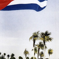 Viva Cuba and Cuban Flag – Fine Art Prints – Noël Haring – Surrey Art Gallery