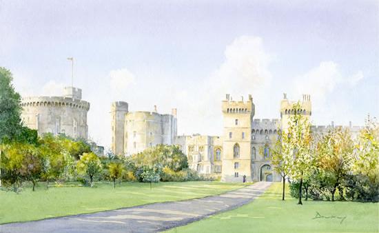 Windsor Castle Berkshire England Royal Palace