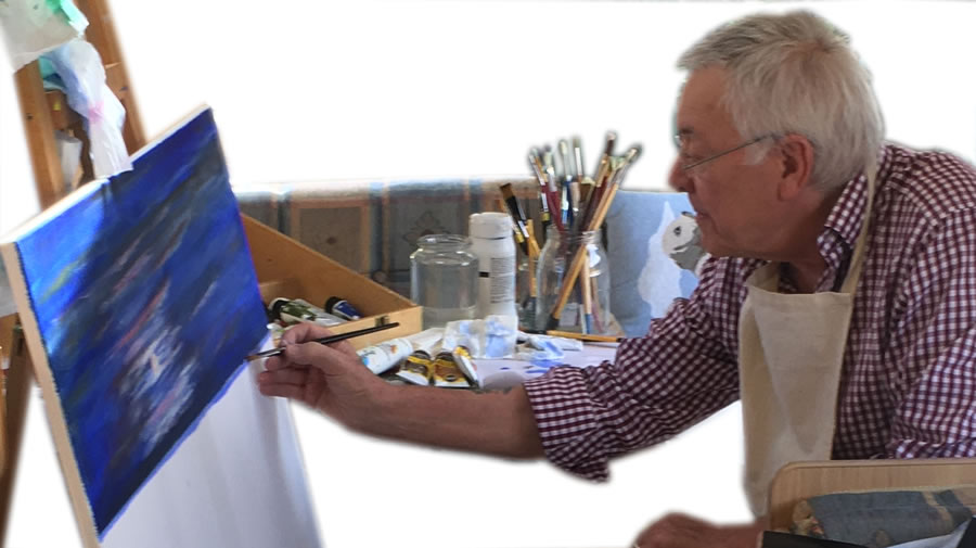 Derek Cooke - Shepperton Artist - Fine Art Prints Of Original Paintings For Sale
