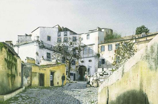 Noël Haring Surrey Artist Alfama Lisbon
