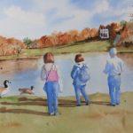 Painshill Park Cobham Surrey – David Harmer Surrey Artist