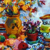 Picasso Jug Painting – Hildegarde Reid – Surrey Art Gallery