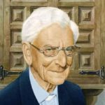 Noël Haring – Portrait of Canon Philip Gardner, Man of the Cloth