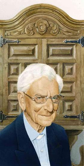 Portrait of Canon Philip Gardner, Man of the Cloth