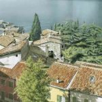 Lake Garda Painting by renowned Surrey Artist Noël Haring