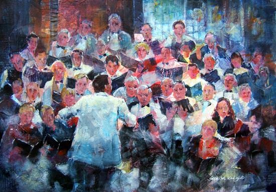 Elmbridge Choir Concert - Sera Knight Art Gallery