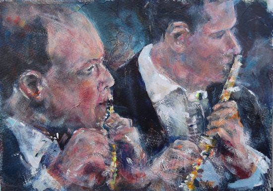 Flute - Flautists - Classical Music Art Gallery