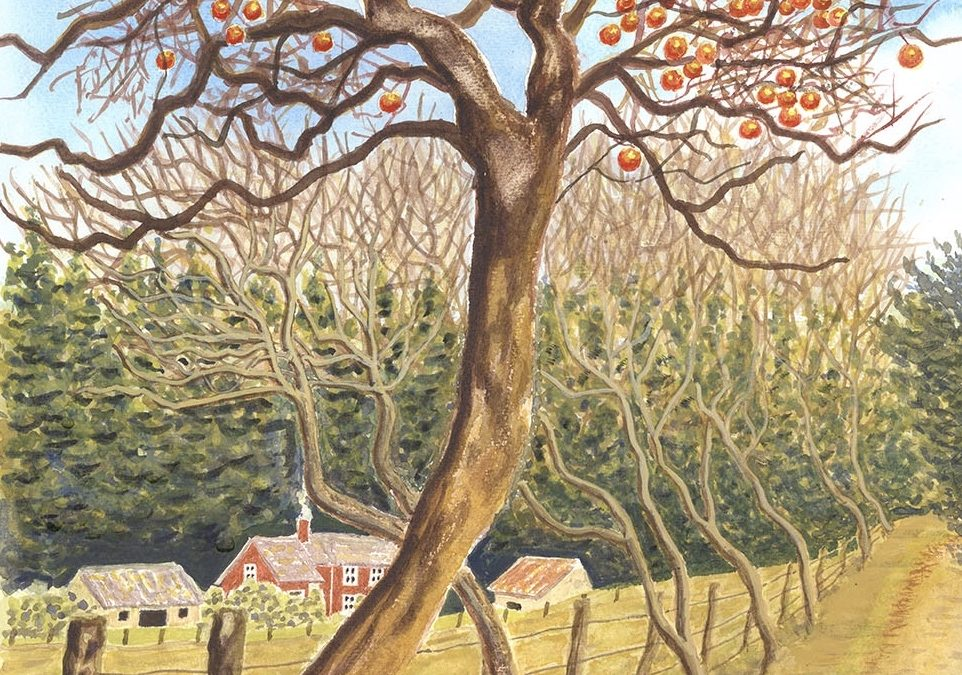 Passing of 2020 – Poem & Art by Claygate Surrey Artist Miranda Fuller