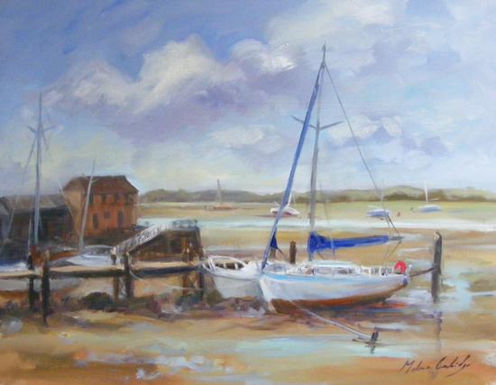 Low Tide, Dell Quay - Melanie Cambridge