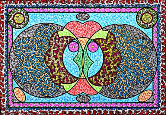 Pattern Design - Surrey Artist Martyn Wyndham-Read