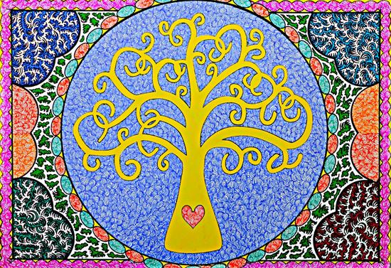 Tree of Life - Martyn Wyndham Read - Surrey Art Gallery