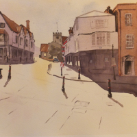 Guildford – Quarry Street – Surrey Scenes Art Gallery