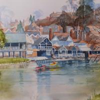 Guildford – River-Wey – Surrey Art Gallery