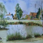 Pirbright Pond – Surrey Scenes Art Gallery