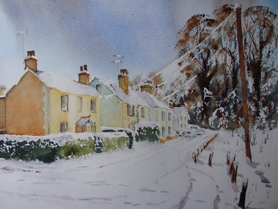 St. John's - Lye View Cottages - Surrey Art-Gallery