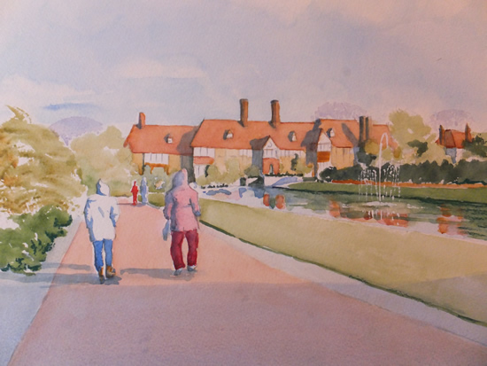 Strolling Through Wisley Gardens - Surrey Art Gallery