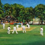 Weybridge Cricket Club Ground Weybridge Green Princes Road Painting