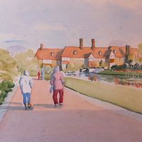 Strolling Through Wisley Gardens  – Surrey Art Gallery
