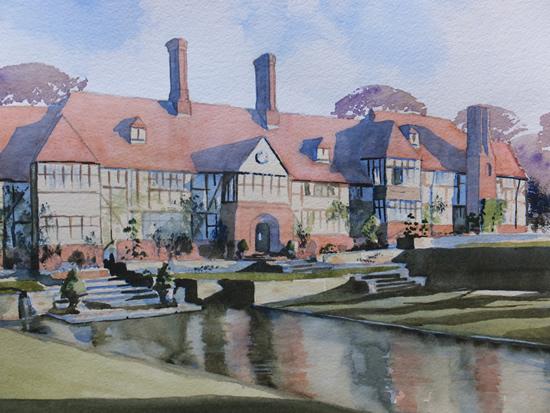 Wisley Gardens Surrey Art Gallery