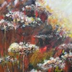 Summer Hedgerow Guildford Art Society member, Ash Artist Ingrid Skogland