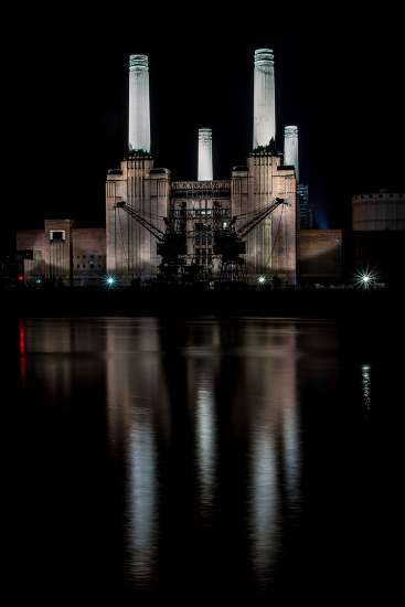 Battersea Power Station before development - Photographic Artist Sue Roche - Associate of the Royal Photographic Society