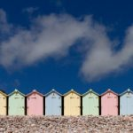 Beach Huts – Devon England – Guildford Surrey Photographer Sue Roche – Surrey Artists Gallery