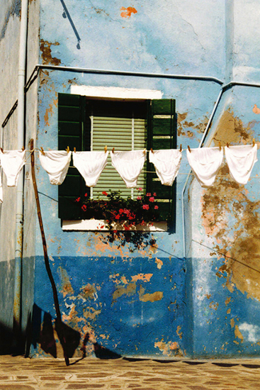 Burano Venice Washing Line Knickers - Associate of the Royal Photographic Society - Sue Roche