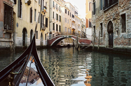 Gondola Venice Canal - Guildford Photographer Sue Roche