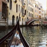 Gondola Venice Canal – Passing Through – Guildford Surrey Photographer Sue Roche