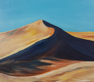 Sand Dunes - Surrey Artists Gallery - Yana Linch