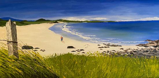 Atlantic Way - Southern Irish Coast - Seascape Artist - Purley-based Maggie Jukes