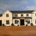 White House Commissioned Oil Painting – Purley Surrey-based Artist Maggie Jukes