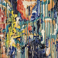 Abstract Art – Byfleet Surrey Artist Charlotte Amison – Commissions Invited
