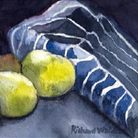 Apples and Apron – Best Professional Still Life Artist of the Year 2020 Richard Waldron