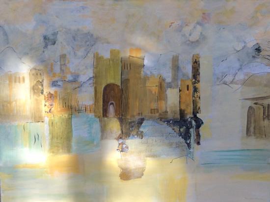 Castles in the Sand - Fine Art Prints - Gallery - Hampton London Artist Jennifer Brown