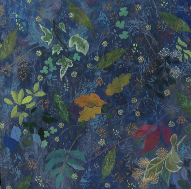 February Garden - Fine Art Prints - Flowers Paintings - Hampton London Artist Jennifer Brown